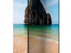 Paraván - Rock formation by shoreline, Andaman Sea, Thailand [Room Dividers]
